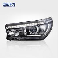 适用于丰田VIGO高配原装大灯 LED改装大灯总成 远征车灯